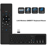 Cheapest Mini 2 4Ghz Wireless Qwerty Keyboard Air Mouse Touchpad Handheld Remote Control 6 Gxes Gyroscope For Pc Tv Android Tv Box Intl Online