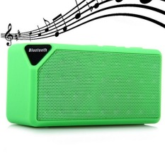 Buy Mini Bluetooth Speaker X3 Tf Usb Fm Radio Wireless Portable Music Sound Box Subwoofer Loudspeakers With Mic For Ios Android(Green Intl Cheap On China