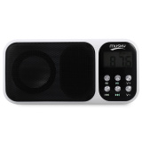 Buy Mini Digital Media Portable Fm Radio Speaker Mp3 Player White Intl Oem Cheap