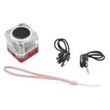 Review Mini Digital Portable Music Mp3 4 Player Micro Sd Tf Usb Disk Speaker Fm Radio Red Intl Oem