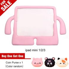 Mini Multifunction Light Weight Shock Proof Eva Foam Children Case Cover For Apple Ipad Mini 1 2 3 Pink Intl Shopping