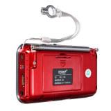 Cheapest Mini Portable Led Digital Fm Radio Speaker Usb Micro Sd Tf Card Mp3 Music Player Red Export