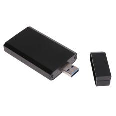 Retail Price Mini Portable Pci E Msata Ssd To Usb 3 Converter Adapter Enclosure Case Intl