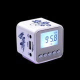 Price Mini Portable Speaker Support Mp3 Usb Tf Micro Sd Card With Fm Radio White Intl Intl Vakind Original