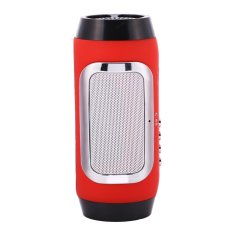 Coupon Mini Portable Wireless Stereo Bluetooth Speaker Chargable Red Intl