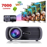 Mini Wifi 7000 Lumens 1080P 3D Hd Led Portable Projector Theater Home Cinema Intl Price
