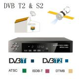 Mitps Full Hd 1080P Dvb T2 S2 Video Broadcasting Satellite Receiver Set Up Box Tv Hdtv Eu Intl On Line