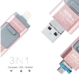 Buy Mitps Usb Flash Drive 64Gb Usb 3 Otg Pen Drive High Speed Pendrive For Iphone Ipod Ipad Macbook Usb Stick Flash Drive Rose Gold Intl Online