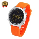 Price Compare Mitps Waterproof Ip68 5Atm Ex18 Smart Watch Passometer Message Reminder Alarm Clock Xwatch Outdoor Swimming Sport Smartwatch Orange Intl