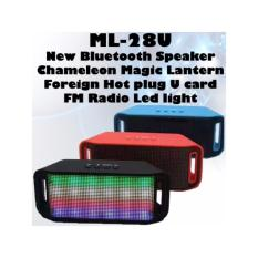 Shop For Ml 28U New Bluetooth Speaker Chameleon Magic Lantern Foreign Hot Plug U Card Fm Radio Led Light