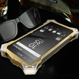 Cheapest Mobile Phone Cover Shockproof Phone Case Bumper For Sony Xperia Z5 Premium 5 7 Inch Gold Online