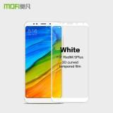 Best Offer Mofi 3D Curved Full Screen Anti Explosion Tempered Glass Film For Xiaomi Redmi 5 Plus Intl