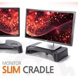 Buy Monitor Slim Cradle Monitor Stand Made In Korea Black Intl Online