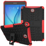 Buying Mooncase Case For Samsung Galaxy Tab A 8 Detachable 2 In 1 Hybrid Armor Design Shockproof Tough Rugged Dual Layer Case Cover With Built In Kickstand Red Intl