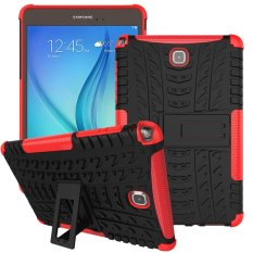 Shop For Mooncase Case For Samsung Galaxy Tab A 8 Detachable 2 In 1 Hybrid Armor Design Shockproof Tough Rugged Dual Layer Case Cover With Built In Kickstand Red Intl