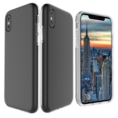 Cheaper Mooncase For Apple Iphone X 5 8 Case 2 In1 Anti Shock Air Cushion Back Shell Soft Thin Tpu Case Cover As Shown Intl