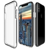 Review Mooncase For Apple Iphone X 5 8 Case Anti Shock Transparent Back Shell Soft Thin Tpu Case Cover As Shown Intl Apple On Hong Kong Sar China