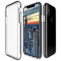 Mooncase For Apple Iphone X 5 8 Case Anti Shock Transparent Back Shell Soft Thin Tpu Case Cover As Shown Intl In Stock