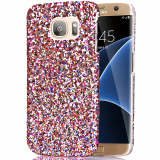 Sale Moonmini Bling Shiny Pc Back Case Cover For Samsung Galaxy S7 Edge White China