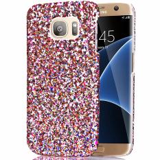 Price Moonmini Bling Shiny Pc Back Case Cover For Samsung Galaxy S7 Edge White Moonmini China