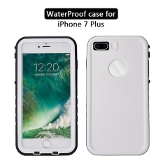Sale Moonmini Case For Iphone 8 Plus Ultra Slim Waterproof Shockproof Dirtproof Snowproof Full Body Case Protector With Button Design And Touch Id Function Blue Intl Moonmini Original