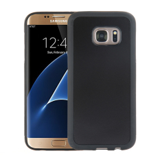 Moonmini Silicone Anti Gravity Case Magical Sticky Snap On Back Cover For Samsung Galaxy S7 Black Free Shipping