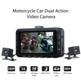Cheaper Motorbike Dvr 3Mp Hd Dual Camera Motorcycle Video Dashcam Recorder Intl