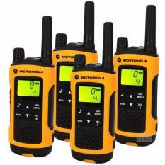 Motorola 10km Tlkr T80 Extreme Twin Sets (2 Box) Long Range Walkie Talkie Pmr 446 Radios(yellow) By Papylon Enterprise Pte Ltd.