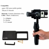 Review Mount Plate Adapter Switch For Gopro 4 3 For Osmo Zhiyun Mobile Gimbal Handhel Intl Not Specified