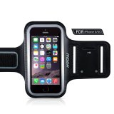 List Price Mpow Running Sport Sweatproof Armband Case Key Holder Export Intl Mpow