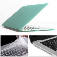 Price Mr Northjoe 3 In 1 Matte Hard Case Keyboard Cover Anti Dust Plugs For Macbook Air 13 3 Green Intl Apple Online