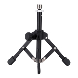 Buy Ms 12 Mini Foldable Desktop Tabletop Tripod Microphone Stand Holder Black Oem Cheap