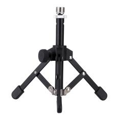 Sales Price Ms 12 Mini Foldable Desktop Tabletop Tripod Microphone Stand Holder Black
