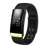 Buy Ms01 Business Style Bluetooth Heart Rate Monitor Fitness Tracker Smart Band Gold Intl Vakind