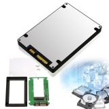Msata Mini Pci E Ssd To 2 5 Sata 22 Pin Converter Adapter With External Case Intl Coupon Code