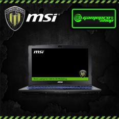 Msi WorkStation WE62 7RI (i7-7700HQ, Quadro M1200 4GB GDDR5) Laptop