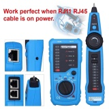 Compare Price Multi Functional Telephone Rj45 Rj11 Network Cable Wire Line Tracker Tester Intl Oobest On China