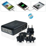 Retail Multi Port Usb Fast Desktop Charger 6 Ports Adapter Travel Wall Intl