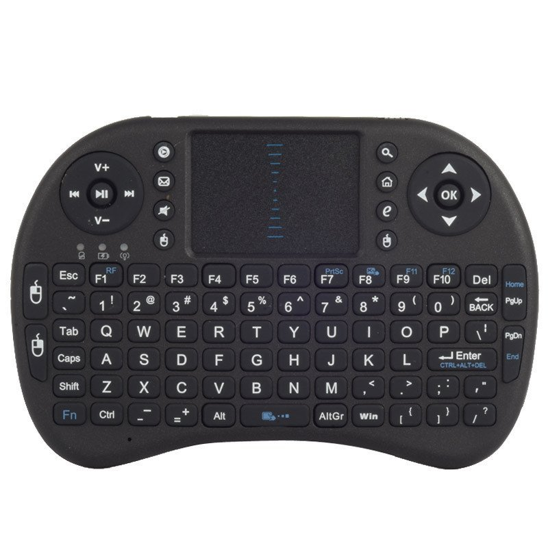 Multifunctional Remote Control Touchpad 2.4G Wireless Keyboard Handhold USB Mini Keyboard For TV BOX PS3 XBOX 360 PC - intl