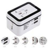 Multipurpose Travel Adapter International Plug Dual Usb Charging Port Universal Ac Socket Intl Shop
