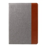 Price Mutural Contrast Color Pu Leather Stand Shell For Ipad 9 7 Inch 2017 Air 2 Air Etc Light Grey Intl Oem China