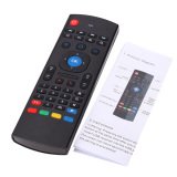 New Mx3 Portable 2 4G Wireless Remote Control Keyboard Controller Air Mouse For Smart Tv Android Tv Box Mini Pc Htpc