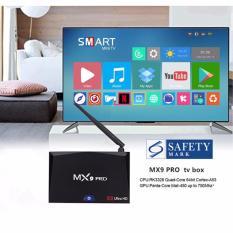 Sale Mx9 Pro Android 7 1 Rk3328 4Gb 32Gb Kodi 17 3 4K Hdr Tv Box 2 4G 5G Wifi Bluetooth Lan Vp9 Hdmi Usb3 Black