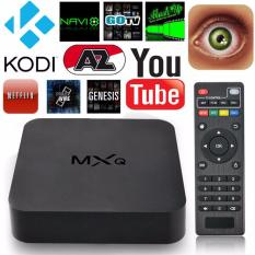 Wholesale Mxq 1G 8G 4 Quad Core Cpu Octa Core Gpu Android4 4 Tv Box Plug Play Preloaded Xbmc Kodi 4K Smart Streaming Media Player Intl