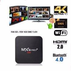 Retail Mxq Pro 2G 16G Android 6 Tv Box Amlogic S905X 4K Quad Core Wifi Hdmi Kodi Smart Media Player Mxq Pro Plus Intl
