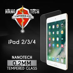 Review Nanotech Ipad 2 3 4 Tempered Glass Screen Protector 2Mm Non Full Coverage On Singapore