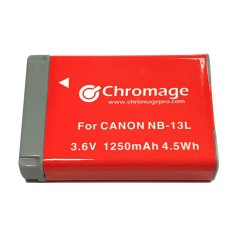 Canon Nb 13L Rechargeable Lithium Ion Battery For Canon G5X G7X G7X Ii G9X Chromage Brand With 1 Year Warranty Chromage Cheap On Singapore