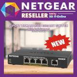 Netgear 5 Port Ethernet Unmanaged Switch With Poe Support Gs305P 100Uks Sale