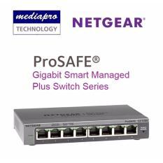 Sale Netgear Gs108E 8 Port Prosafe® Gigabit Web Managed Plus Switches Netgear