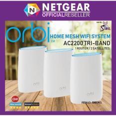 Netgear Orbi Ac2200 Tri Band Wifi Home System Rbk43 Netgear Discount